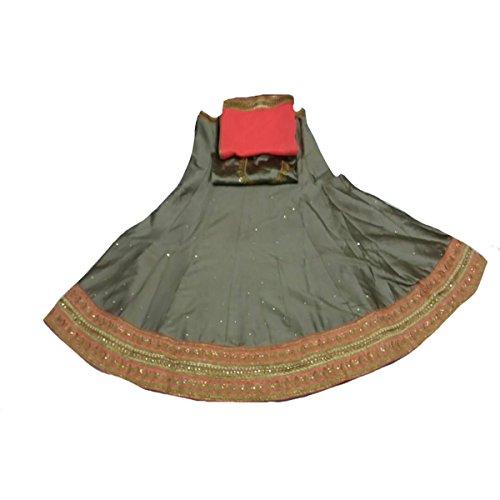 Customized Party Wear Bridal Lehenga Choli Ceremony Dress Eid Muslim Ethnic Designer Women Hijab Indian 9209