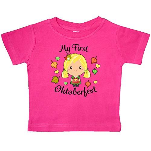inktastic - My First Oktoberfest Girl Baby T-Shirt 24 Months Hot Pink 321b2 for $<!--$14.99-->