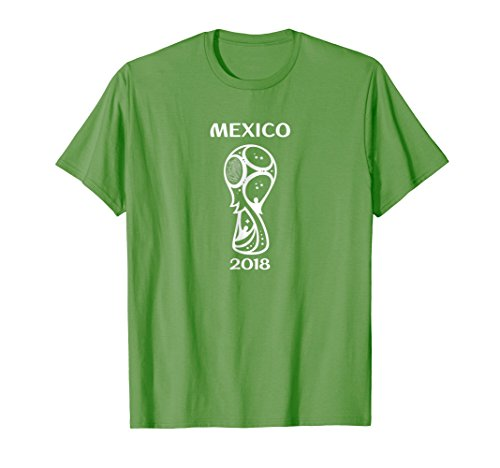 (Mexico World Soccer Russia 2018 Football Cup Fan T-Shirt)