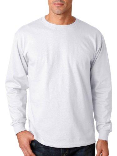 Alternative Men's Basic Crew T-Shirt, White, Large