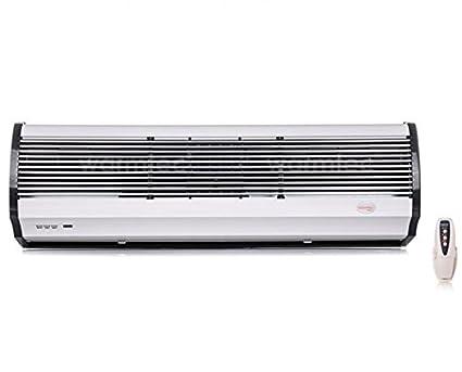 Cortina de Aire Caliente Eléctrico wrms10 - 10 KW 150 cm + + detector puerta abierta
