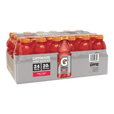 Gatorade Fruit Punch - 20 oz. bottles - 24 pk. (pack of 6) by Gatorade