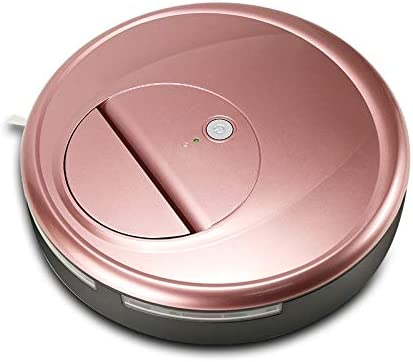 Zhouzl Maison Intelligente Robot Intelligent Nettoyeur de balayeuse Domestique FD-RSW (D) Maison Intelligente (Couleur : Red) Rose Gold