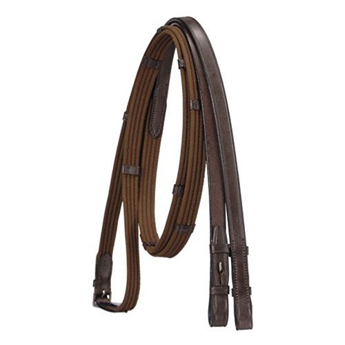 EquiRoyal Brown Cotton Web Reins by EquiRoyal