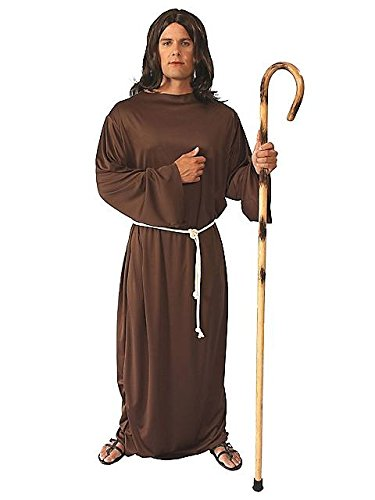 Alexanders Costumes Story of Christ Gown Adult, Brown, One Size -