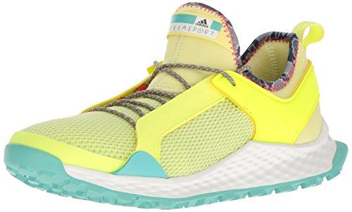 adidas Performance Women's Shoes | Aleki X Cross-Trainer, Yellow/Yellow/Aqua, (10 M - Shop Mccartney Stella