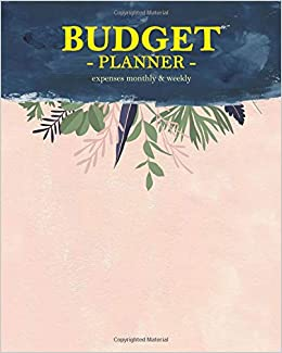 budget planner expenses monthly weekly for 365 days tracker bill