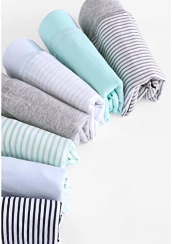 子供服 Fashion Kids Boys 7 PCS Stripe Underwear Breathable Cotton Flat Underpants