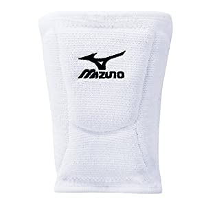 Mizuno LR6 Volleyball Kneepad, White, Large