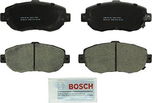 (Bosch BC619 QuietCast Premium Ceramic Disc Brake Pad Set For Lexus: 1993-2005 GS300, 1998-2000 GS400, 2001-2005 GS430, 2001-2005 IS300, 2002-2010 SC430; Toyota: 1993-1998 Supra; Front)