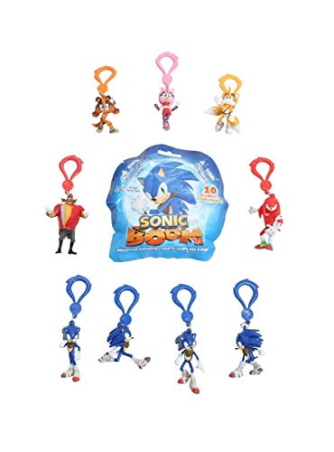 Amy Rose Sonic Boom (Hot Topic Sonic Boom Backpack Hangers Blind Bag Clip-On)