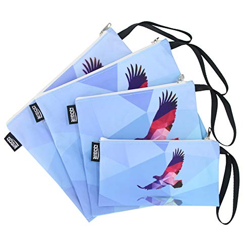 - QOGiR Reusable Snack Bags and Sandwich Bags with Handle (Eagle)