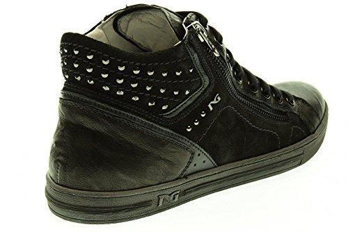 las alta mujer NEGRO zapatillas JARDINES A513431D 100 de Nero deporte ZxvqawR