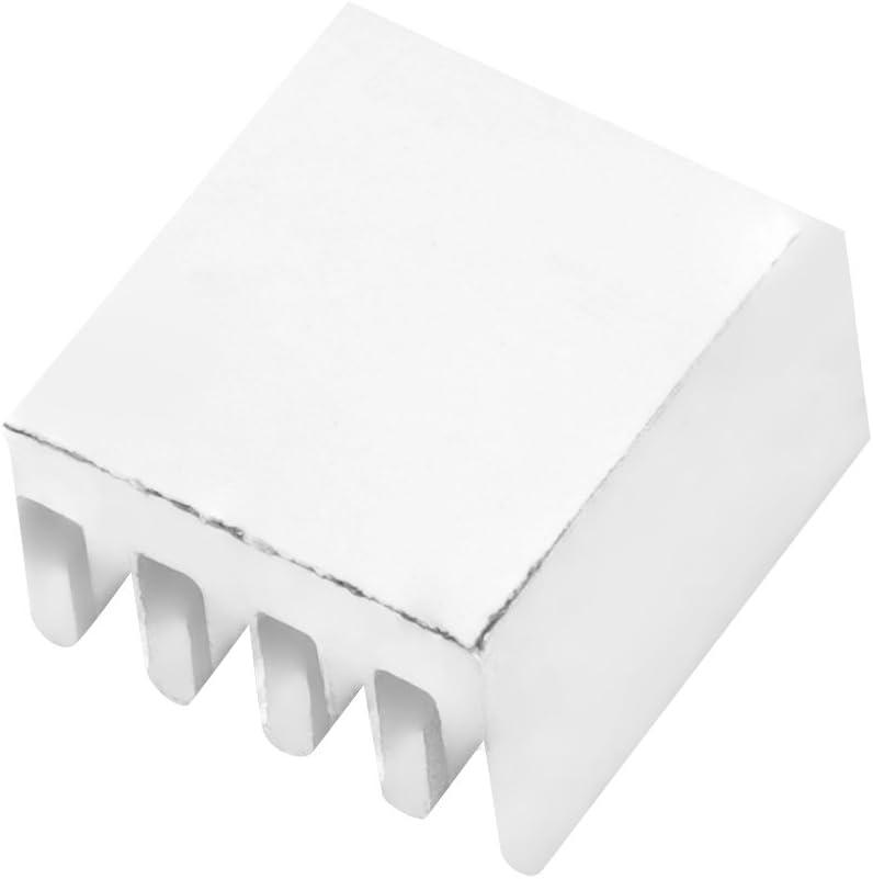 10 pcs 3D imprimante dissipateur de Chaleur Bonne conductivit/é Thermique Adh/ésif Puce en Aluminium dissipateurs de Chaleur Dissipation Rapide de la Chaleur Applicable imprimante 3D A4988