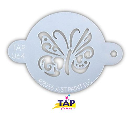 TAP 064 Face Painting Stencil - Ornate Butterfly ()