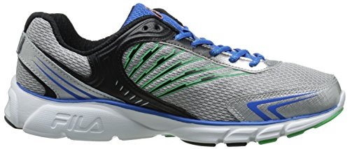 Fila Maranello zapatillas de running Metallic Silver/Blue/Andean Toucan