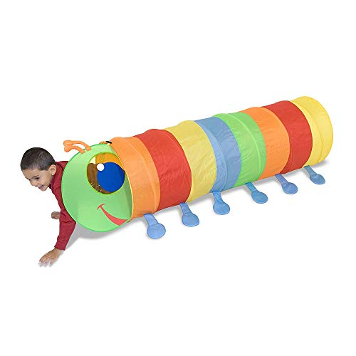 Happy Giddy Tunnel is a fun and inexpensive indoor toy for active kids