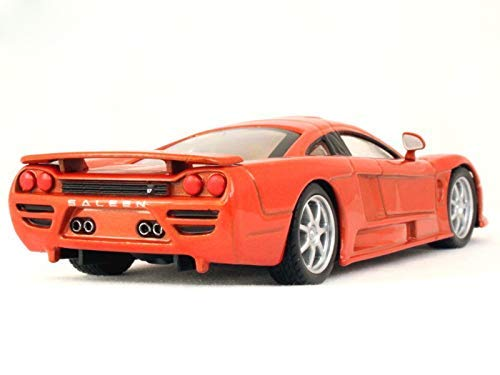 Amazon.com: Saleen S7 (2007) 1:43 Scale Red Color De Agostini Supercar 2-Door Coupé Diecast Model Car: Toys & Games