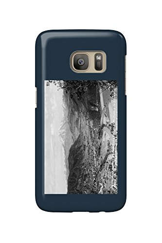 Glenwood Springs, Colorado - Traver Ranch View; Roaring Fork River Valley Photograph (Galaxy S7 Cell Phone Case, Slim Barely - Valley Glenwood