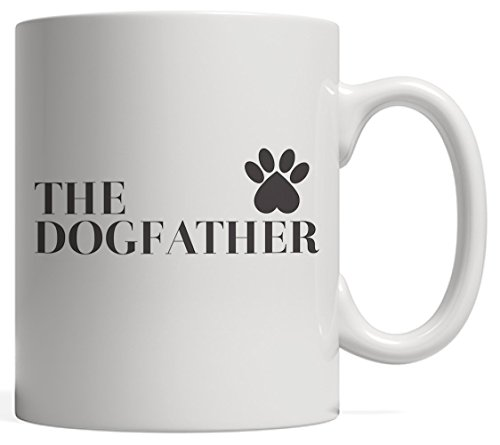 The Dogfather Mug Dad Dog Lover - Funny Gift on Father's, used for sale  Delivered anywhere in USA