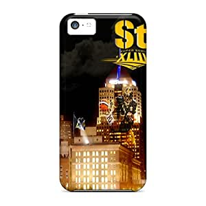 Tpu Fashionable Design Pittsburgh Steelers Rugged Case Cover For Iphone 5c New