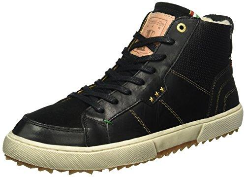 black Uomo 25y Teco D'oro Pantofola Pelliccia Sneaker Mid Nero p0xwqfwz