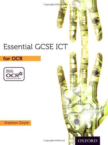 Essential Ict GCSE: Student's Book for OCR pdf epub