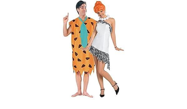 Disfraces años 60 para hombre y mujer de Fred y Wilma Picapiedra ...