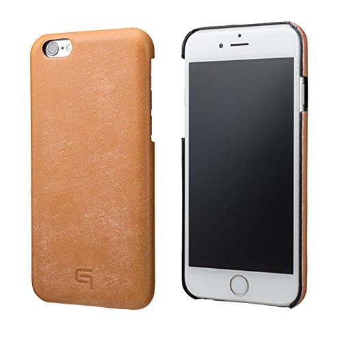 GRAMAS Bridle Leather Case (iPhone 6/6s Plus, Tan) LC835TA