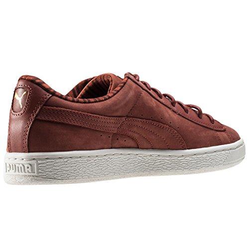 Puma Classic Citi 361352 - Zapatillas de deporte Unisex adulto marrón/blanco
