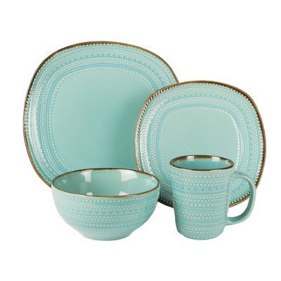 Tallulah 16 Piece Dinnerware Set by American Atelier