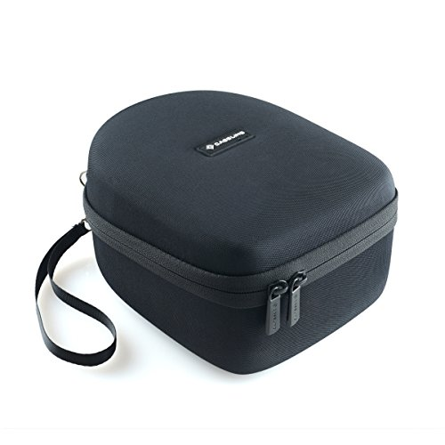 caseling Hard Case Fits Howard Leight by Honeywell Impact Pro Sound Amplification Electronic Shooting Earmuff (R-01902) - Includes Mesh Pocket for Accessories.