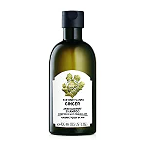 The Body Shop 5028197619435 Ginger Scalp Care Shampoo, 13.5 Fl Oz