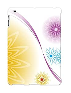 Crazinesswith High-end Case Cover Protector For Ipad 2/3/4(flower Motifs)