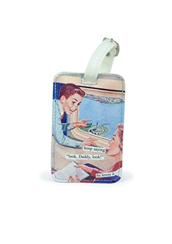 - Anne Taintor, Inc. Luggage Tag - Look