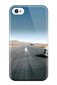 Hot Fashion EKpHkCY2486iBDXe Design Case Cover For Iphone 4/4s Protective Case (audi Tt Cabrio Background)