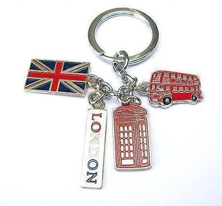 Amazon.com: Union Jack Bandera autobús de Londres Cabina de ...