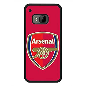 Arsenal FC Phone Case Cover For Htc One M9,Black Hard Plastic Case Cover For Htc One M9