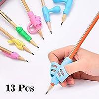 Pencil Grips - Children Pen Writing Aid Grip Set Posture Correction Tool for Kids Preschoolers Children,Hollow Ventilation