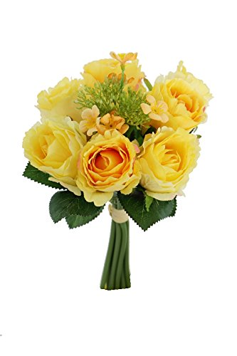 Renaissance 2000 Rose Bouquet, Yellow (Yellow Bouquet Rose)