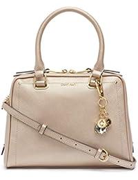 Marybelle Saffiano Leather Top Zip Satchel