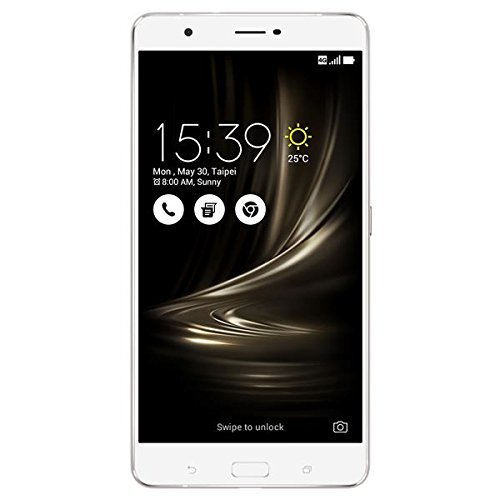 ASUS ZenFone 3 Ultra ZU680KL 4GB / 64GB 6.8-Inch 4G LTE Dual SIM FACTORY UNLOCKED – International Stock No Warranty (SILVER)