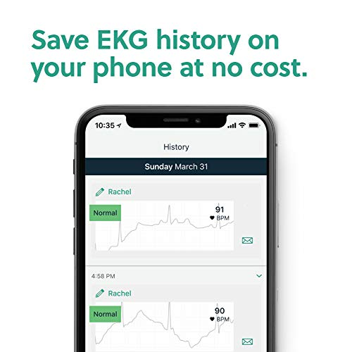 AliveCor KardiaMobile 6L   FDA-Cleared   Wireless 6-Lead EKG   Works with Smartphone   Detects AFib or Normal Heart Rhythm in 30 Seconds 41g6JpQW2GL