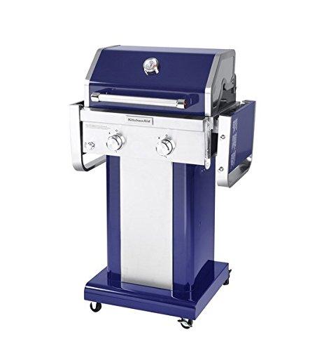 Kitchen Aid Grill: KitchenAid 720-0891G Full-Size Gas Grill Propane, Blue