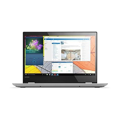 Lenovo Yoga 520 14IKB Ordenador portátil Convertible de 14 HD Intel Core i3 7130U 8GB de RAM 1TB de HDD Windows Home 10 Gris Teclado QWERTY español