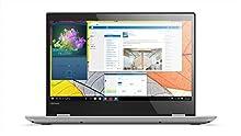 "Lenovo Yoga 520-14IKB - Ordenador portátil táctil 14"" HD (Intel Core i5-8250U, 8GB de RAM, 1TB de HDD, Windows Home 10) Gris, Teclado QWERTY español [España]"