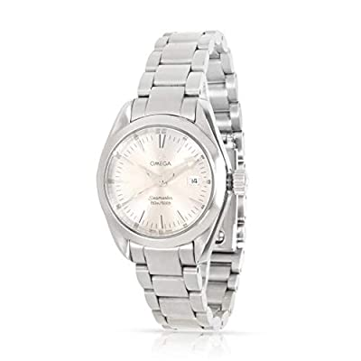 Omega Seamaster Quartz Female Watch 2577.30.00 (Certified Pre-Owned) by Omega
