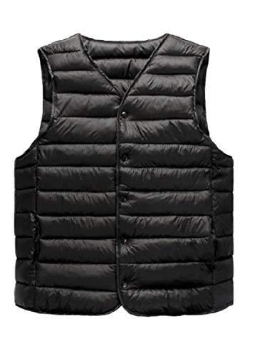 Coats Vests Vests security Lightweight Packable Puffer Black Down Mens XqTqZwz