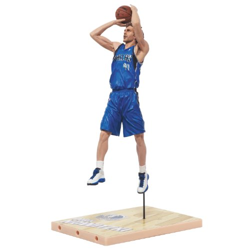 NBA Dallas Mavericks McFarlane 2012 Series 21 Dirk Nowitzki (3) Action Figure Atlanta Hawks Player Series