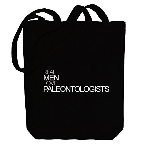 Idakoos Real men love Paleontologists - Berufe - Bereich für Taschen